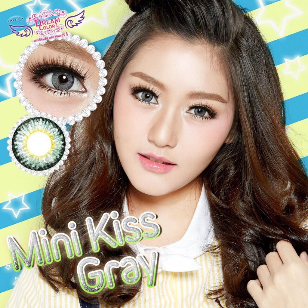 mini kiss gray สีเทา
